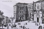 Die Schlosspartie in Königsberg um 1820, Fotografie einer Postkarte; GStA PK, IX. HA, SPAE VII Nr. 3132.